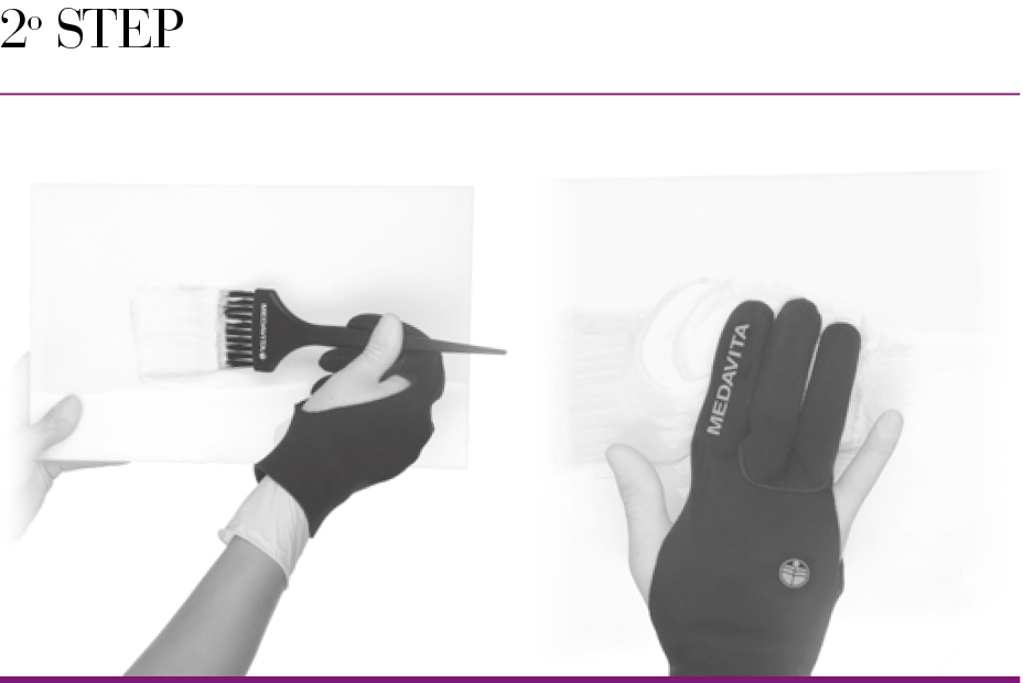 Lights glove Step2