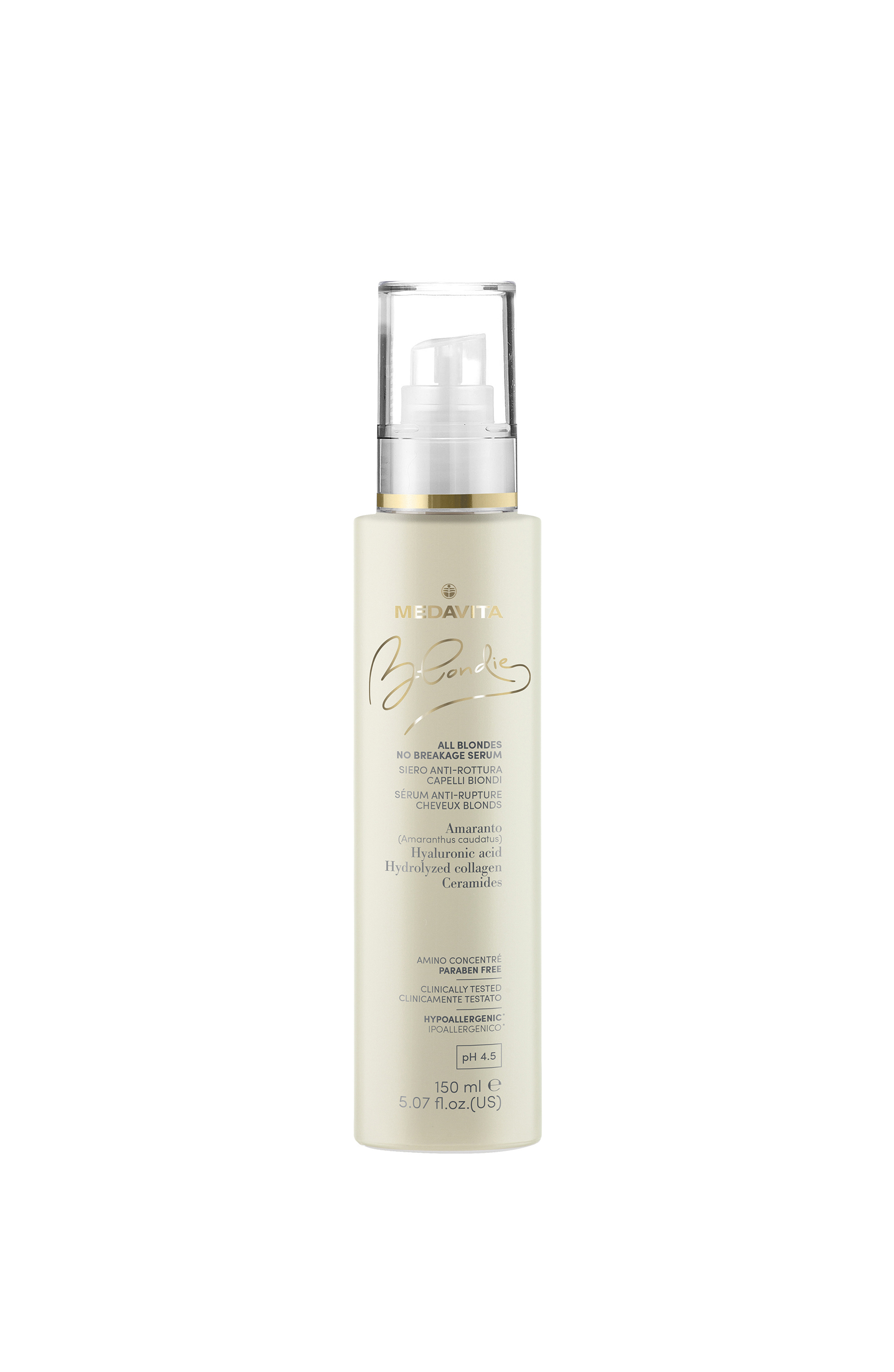 Blondie flacone spray All Blondes No Breakage Serum 150ml